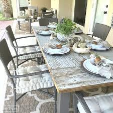 diy outdoor farmhouse table. 10 DIY Outdoor Farmhouse Tables Diy Table O