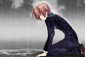 broken hearted anime sad boy wallpaper