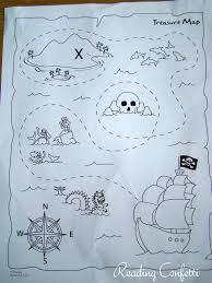 Design A Treasure Map Activity Reading Confetti Preschool Treasure Maps Treasure Maps