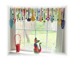 colorful kitchen valance | kitchen curtains window treatments | Super  Kitchy Colorful Whimsical .