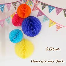 ornaments and honeycomb and pom pom paper party birthday party wall wall decorations gadgets decoration