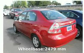2011 Chevrolet Aveo 1LT Hatch Features and Specification - YouTube