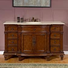 silkroad exclusive 60 inch bath vanity granite top