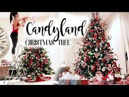 candyland christmas tree you