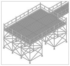 bird cage scaffold