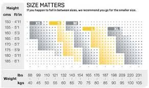 Asics Tights Size Chart Baselayer