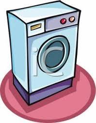 washing machine clipart. clipart picture: a washing machine o