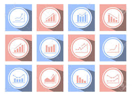Web Design Charts Graphs A Set Of Graphical Icons For Web Design Charts And Graphs Icons
