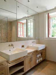 Small Picture Mirrored Wall Bathroom Get inspired with home design and