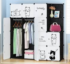2019 furniture wardrobe bedroom nonwoven wardrobes cloth storage saving space locker closet sundries dustproof storage cabinet 10 styles lh08 from lovehomes