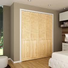 Bi-fold Door, Louver Panel Plantation 1x24x80 - Closet Storage And ...