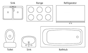 Kitchen Floor Plan Symbols To Read A O And Creativity Ideas