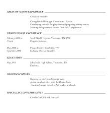 Resumes For Highschool Students Resume Samples For High School ...