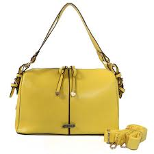 Coach Madison Exotic Medium Yellow Shoulder Bags CIU