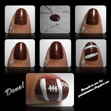 Football Nail Art Tutorial! - Polish Etc.