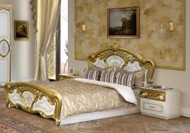 Matching Bedroom Furniture Golden And White Bedroom Furniture With Matching Curtains And Wall