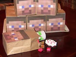 Minecraft Party Decorations Apple Falls Minecraft Party Games Favors And Decorations