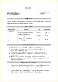 7+ ccna resume