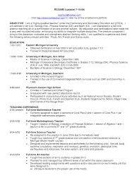 Teaching Resume Objective Statement Resume Objective Science Teacher 24 Elementary Education Teacher 20