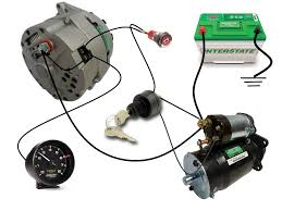 common delco si series alternator wiring diagram smith co electric this diagram shows the simple wiring diagram for negative ground delco si series alternators