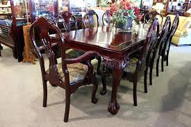 chippendale dining room set rosewood furniture inc chippendale dining room table and chairs