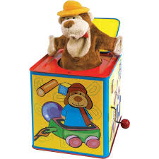 jack in the box toy. animal jack-in-the-box jack in the box toy