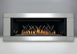 stainless steel fireplace topaz ember bed porcelain reflective radiant panels premium 4 sided surround brushed stainless