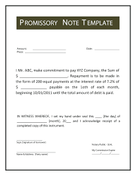 Form Promissory Note Template Mortgage Promissory Note Template 23