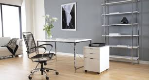 Small Picture Affordable Modern Office Furniture Walnut And Black Chair Chicago