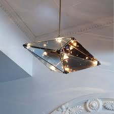 roll hill maxhedron diamond shape home decoration lighting italian glass pendant lighting 72156