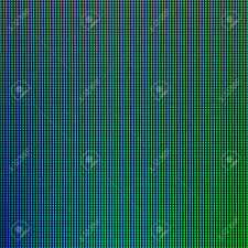 Led Lights From Computer Monitor Screen Display Panel For Graphic