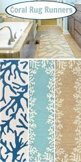 coastal bathroom rugs c rug runners the look beach coastal bath rug sets