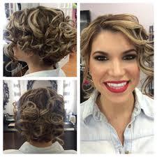 Short Hair Style Wedding Bridal Makeup Bridesmaid Hairstyles