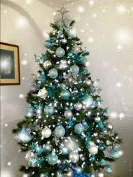 Teal Christmas Tree Decorations | Christmas decorations | Pinterest | Teal  christmas tree, Teal christmas and Tree decorations