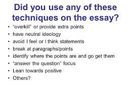 ap essay tips ppt video online did you use any of these techniques on the essay