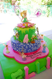 Tinkerbell Fairies Birthday Party Ideas Photo 12 Of 42 Catch