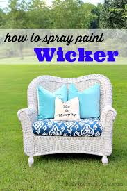 painting wicker furnitureHow to Spray Paint Wicker Furniture  HomeRight
