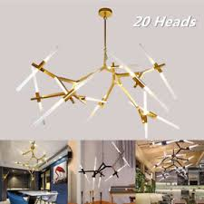 branch chandelier lighting. Image Is Loading 20-Heads-Modern-Branch-Chandelier-Metal-Pendant-Lamp- Branch Chandelier Lighting I
