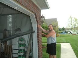 garage door screen systemgaragedoorscreenspulleysystem  Garage Door ScreensGarage Door