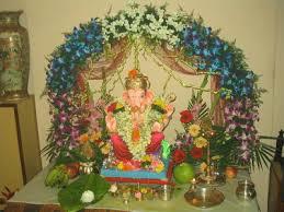 eco friendly ganesh eco friendly decorations ideas