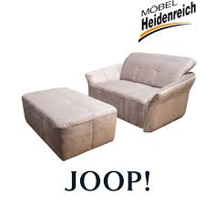 Joop Sessel Overnight Mit Hocker Motorisch Grau Sessel