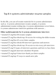 topitsystemsadministratorresumesamples lva app thumbnail jpg cb