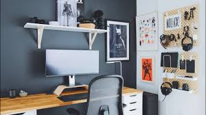 Brooklyn, ny 12345 made with squarespace. Diy Home Office And Desk Tour Work From Home Setup Youtube