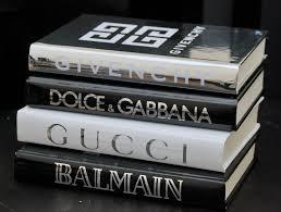 coffee table item display book 4 books