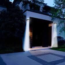 400 lumens outdoor solar lights motion sensor security