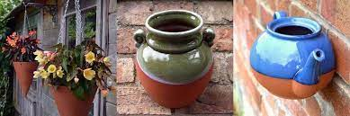 wall pots weston mill pottery uk