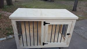 unfinshed Dog crate furniture DIY dog crate dog crate