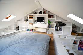 interior awesome design of loft style home with minimalist owl home decor home decor beautiful home office design ideas attic