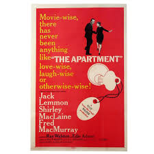 The Apartment Film Poster 1960