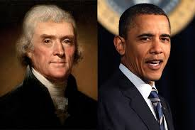 Image result for Jefferson Obama same photo